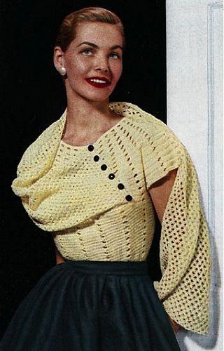 Crochet Pattern Name: Stole blouse Pattern Pattern by: American Thread Company