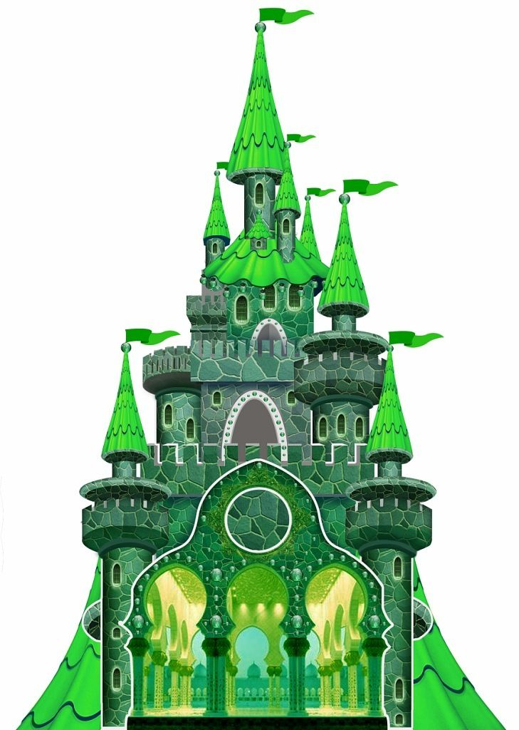 Картинка изумрудный замок