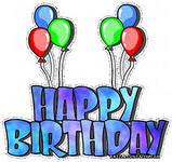 С Днем рождения! Воздушные шарики картинки смайлики