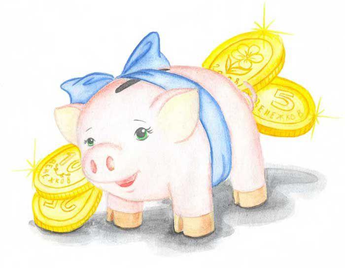рисунок с деньгами на конкурс