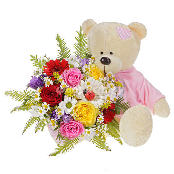 Букетик цветов для девочки 4 года