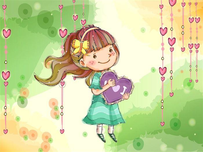 Vector children's Happy Wallpaper (1) #4 - Wallpaper Preview - Anime Wallpapers - V3 Wallpaper Site