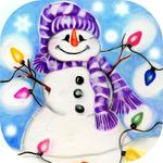 Снеговики смайлики картинки гифки