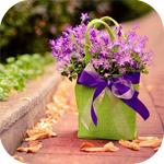 Цветы разные смайлик
