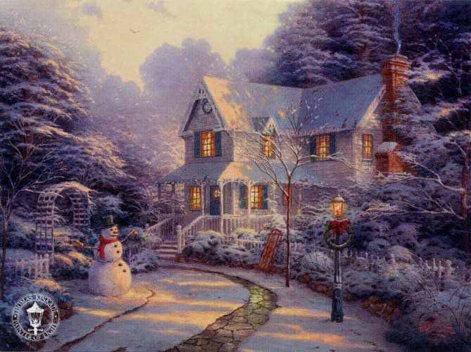 Kinkade Winter