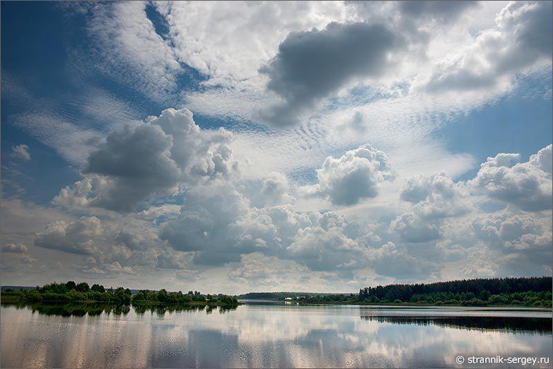 Лето — фото озеро