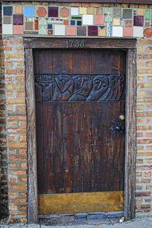 fabulous door ~ 1738 North Wells Street, Sally Hunter   Flickr - Photo Sharing!