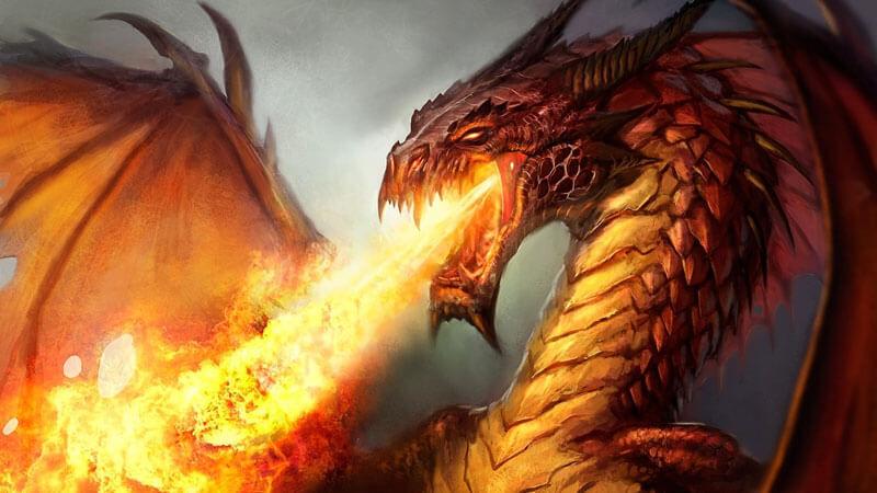 Картинки по запросу злой дракон