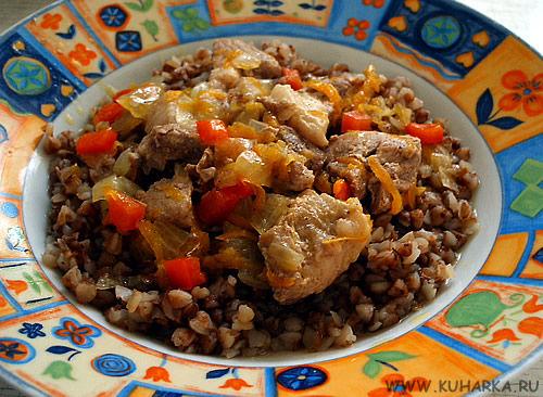 Как приготовить гречку с мясом в кастрюле с