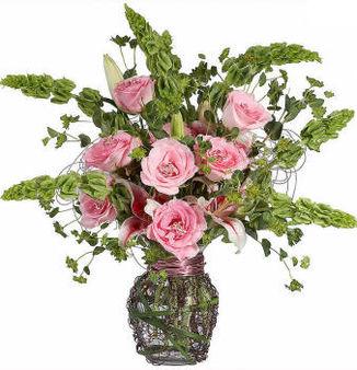 Очень красивый букет роз
