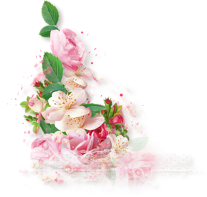 Завиток с цветами, Картинки клипарт