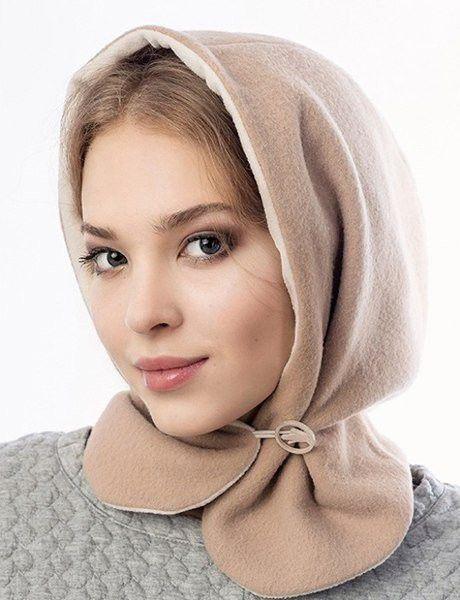 Моднейший, удобнейший головной убор + выкройка