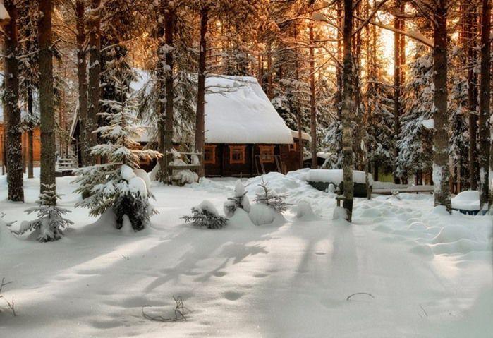 Фото зимнее утро - фотограф Евгений Куренков - пейзаж - ФотоФорум.ру