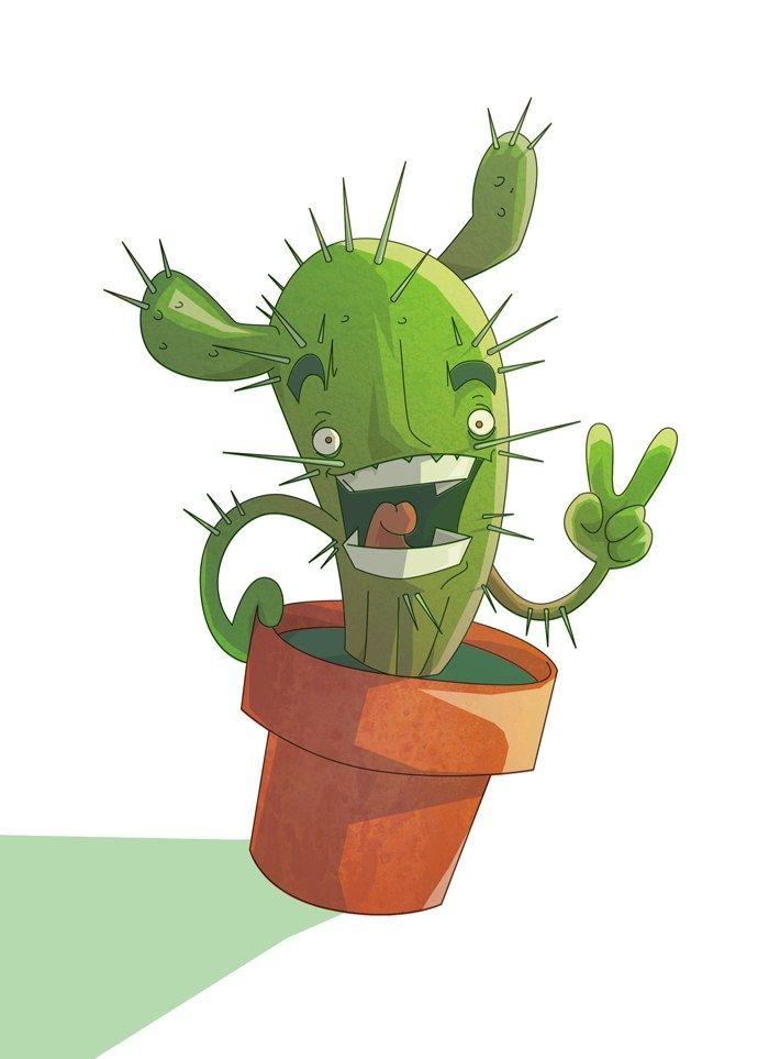 многие кактус смешной картинки планировала использовать
