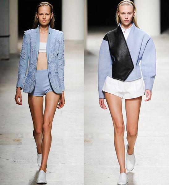 Модные мини-шорты весна-лето 2014 от Barbara Bui