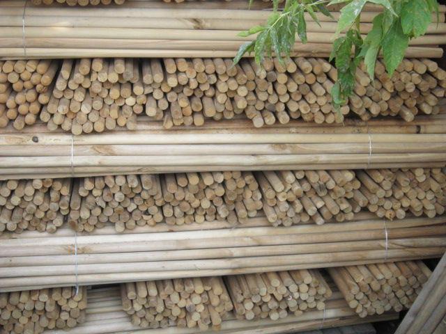 На фото – главный крепеж для стен деревянного дома из бруса и бревна – круглый деревянный березовый нагель (шкант).