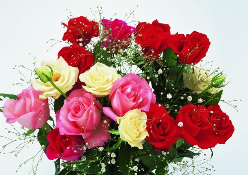 Красивые букеты цветов на день рождения анимации