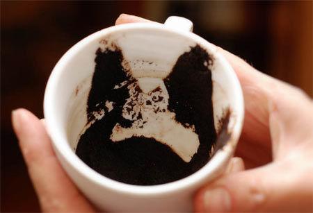 чашка для гадания на кофе