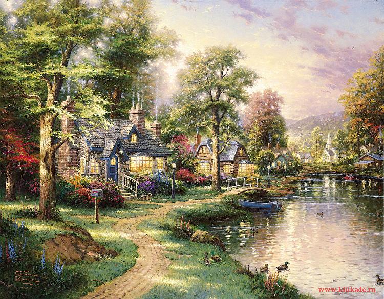 Kinkade Thomas Paintings