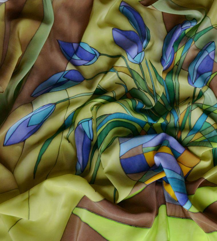 Картинки шелковые платки из коллекции реставрация елены бадмаевой