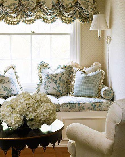 Interior Designer : Cristina Keogh of Palm Beach.