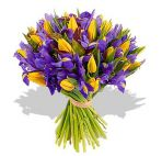 Прекрасные букеты из самых разных цветов (39)