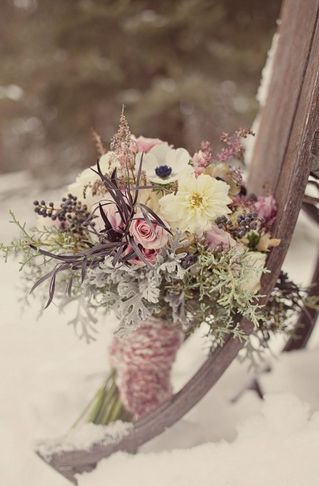 Зимняя Свадьба - Зимняя Свадьба Невеста Стиль #797217 - Weddbook