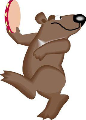 Картинки по запросу медведь с бубном