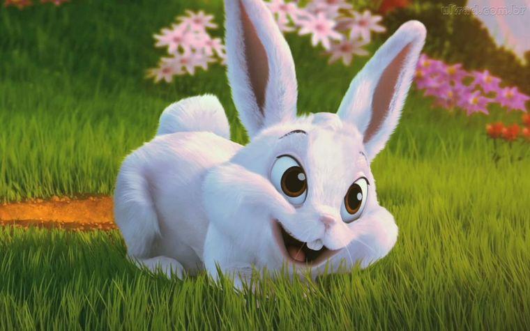 Картинки заяц мульт