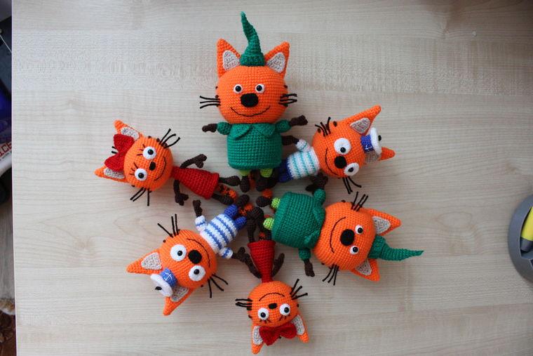 Мастер-класс: вязание Карамельки из мультфильма «Три кота ...
