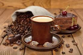 Картинки по запросу кофе с пирожным фото