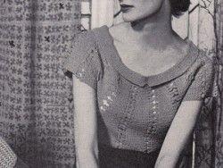 Free 1950's crochet pattern