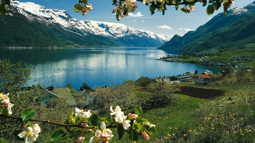Hardangerfjord, Norway wallpaper - Nature wallpapers - #14479