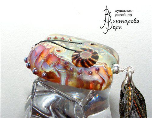 кулон лэмпворк