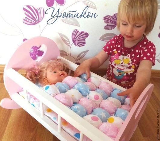 постель для кукол, аукцион, подарок девочке