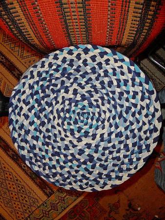 Вязание косичек из ткани