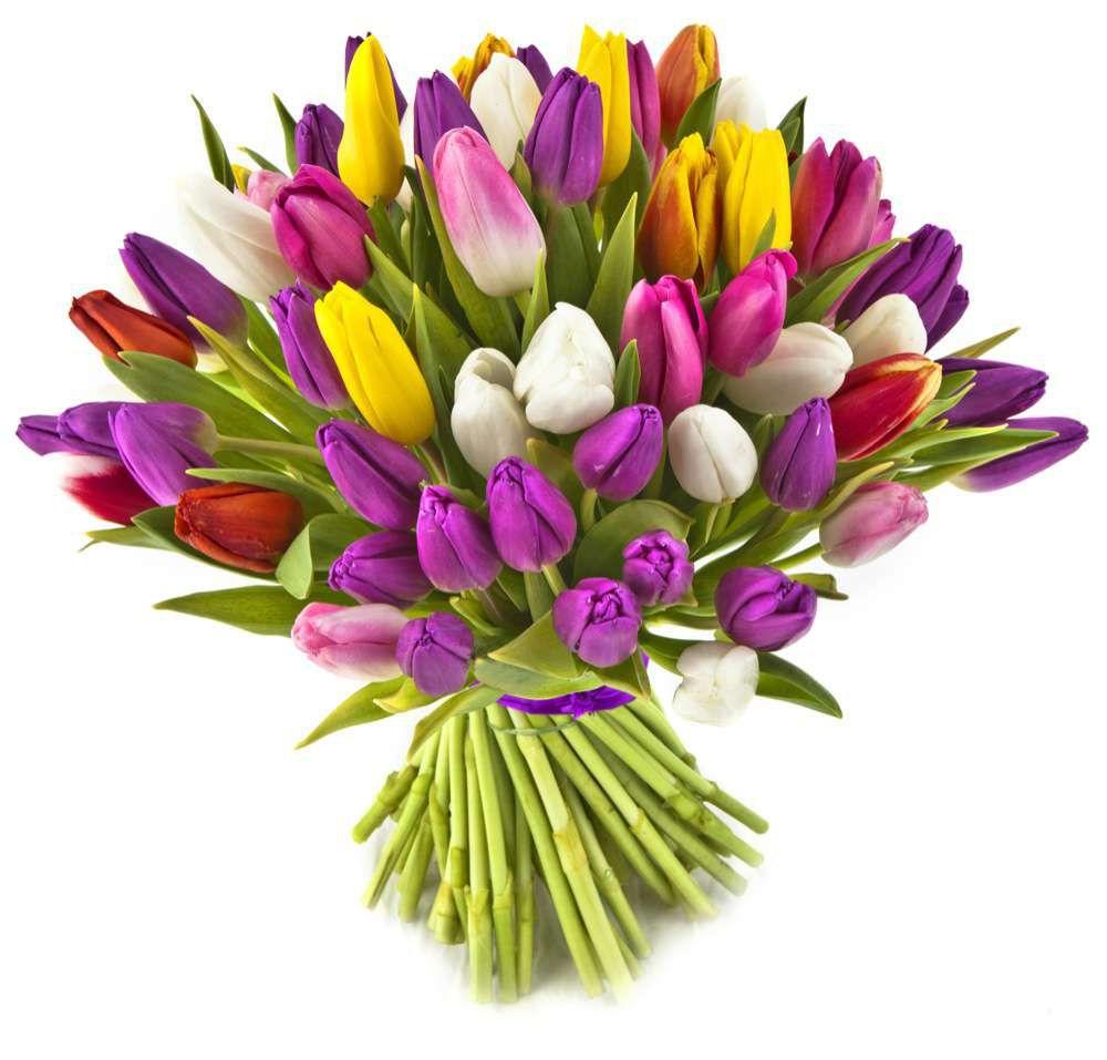 Картинки по запросу букет тюльпанов