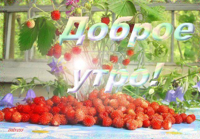 доброе утро - НА КАЖДЫЙ ДЕНЬ - поздравительные открытки, подарки и картинки - Маленький рай анимации