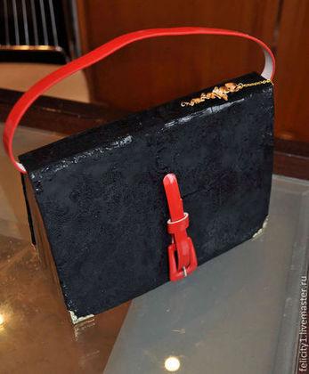"""Блокноты ручной работы. Ярмарка Мастеров - ручная работа Ретро блокнот """"Винтажная сумочка"""". Handmade."""