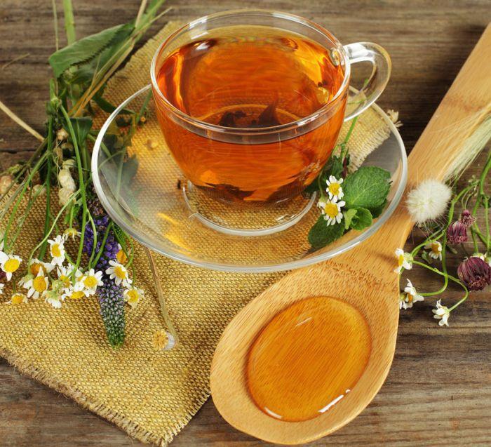 Чай с медом хороший способ похудеть