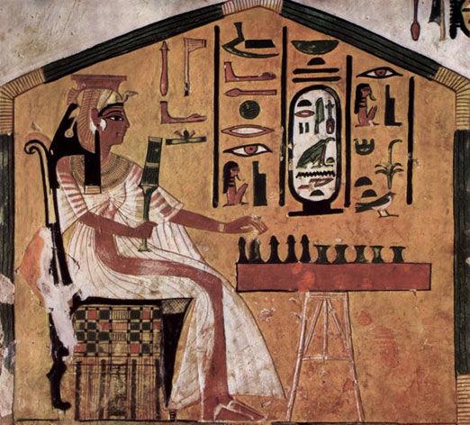 Аналог игры в нарды был обнаружен в Древнем Египте