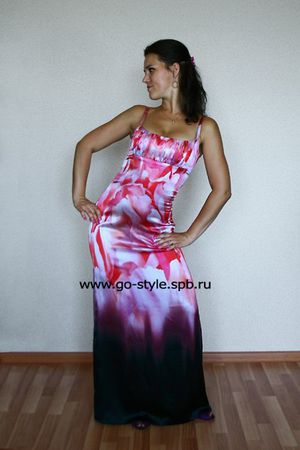 платье длинное2