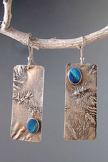 "Contemporary Jewelry - ""PRD-240E"" (Original Art from Patricia Reinking Designs):"